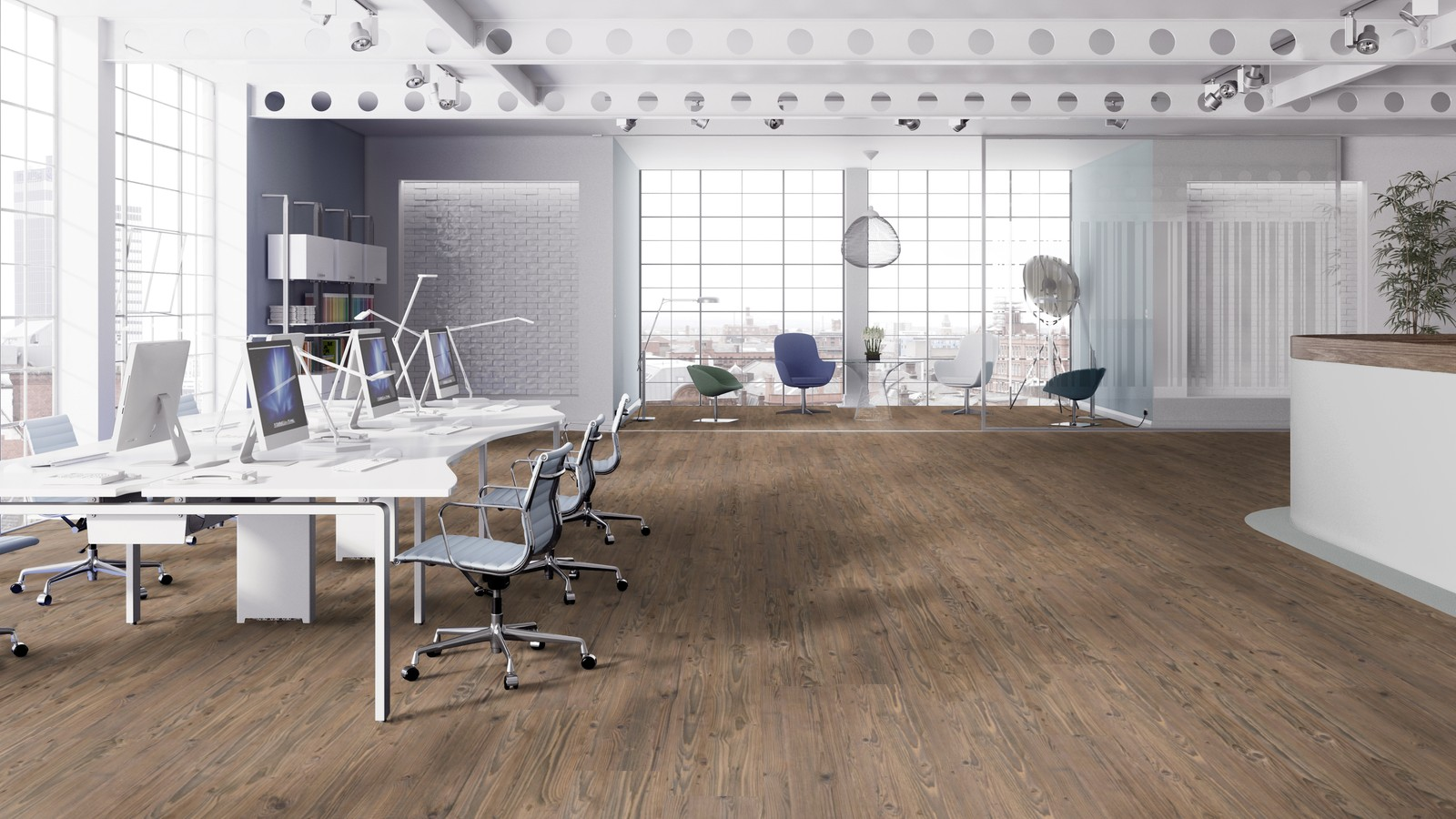Forbo Impressa Natural Pine Natürlicher Linoleum Designboden